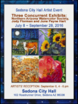 Sedona City Hall NAWS Art Show July 8, 2016 - September 28, 2016