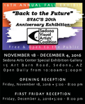 Sedona Visual Artists' Coalition 20th Anniversary Exhibition - November 18 - December 4, 2016