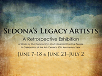 Sedona's Legacy Artists - Sedona Arts Center - June 7 - July 2, 2017