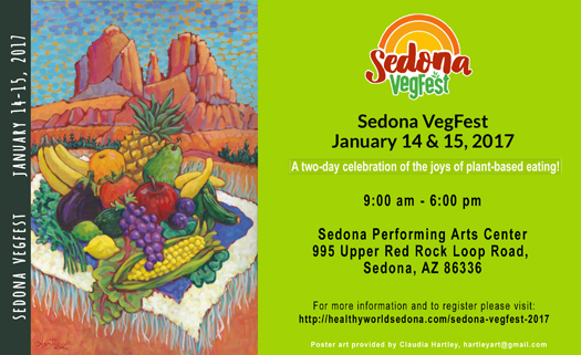 Sedona VegFest - January 14 - 15, 2017