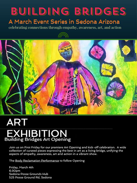 """Building Bridges"" Art Exhibit - March 3 - April 1, 2016"